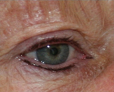 After-Semi-Permanent Eye Makeup